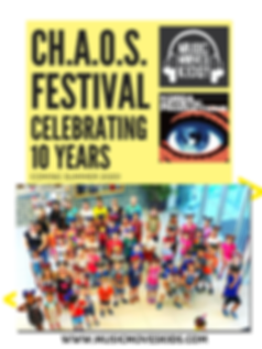 CH.A.O.S. FESTIVAL CELEBRATING 10 YEARS.