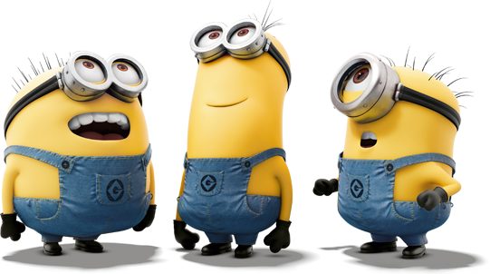 MINIONs look up