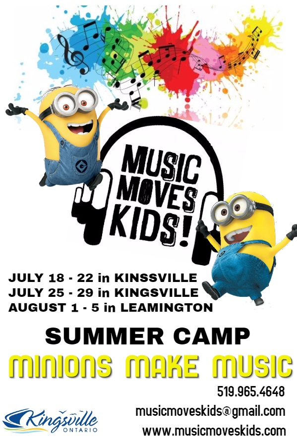MMK Minion Camp POSTER
