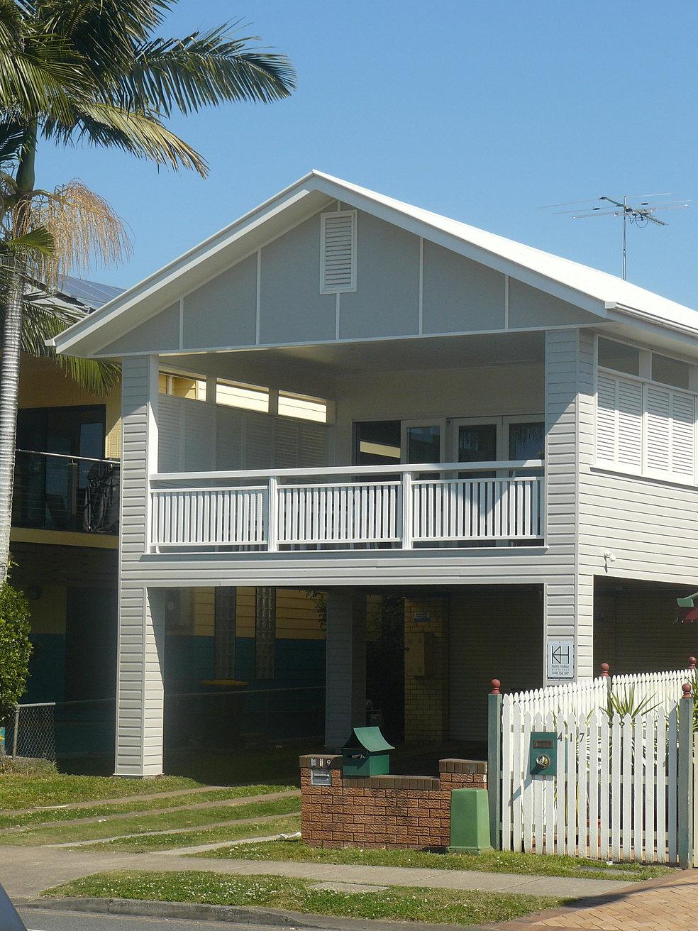 Modern Queenslander House