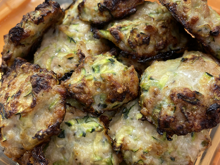 Chicken Zucchini Bites: Kid and Husband Approved!