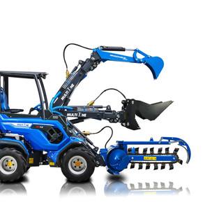 Оборудование для строительных работ: экскаваторы, различные ковши, просеиватели и измельчители, бетономешалки и бара-пилы и др.