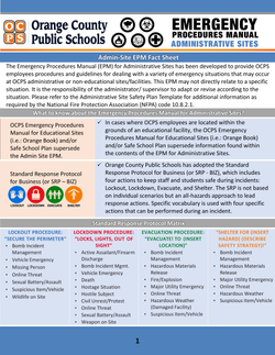 OCPS EPM Fact Sheet Page 1