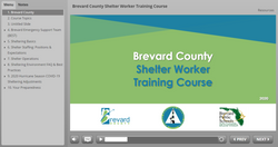 Brevard County Shelter Worker Training Course