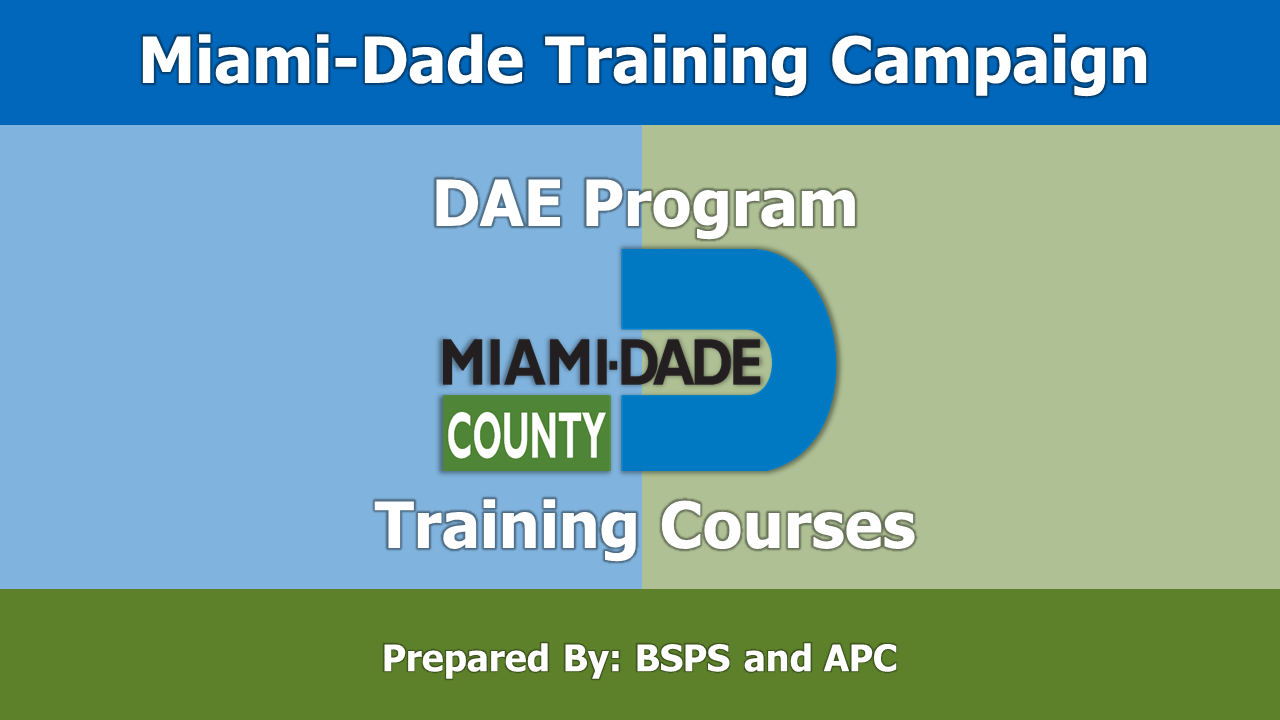 Miami-Dade Online Training Program