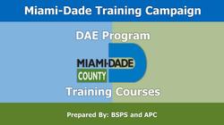 Miami-Dade Online Training Program