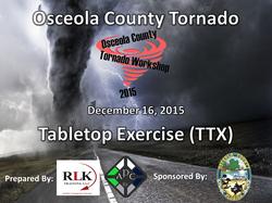 2015 Osceola County Tornado TTX