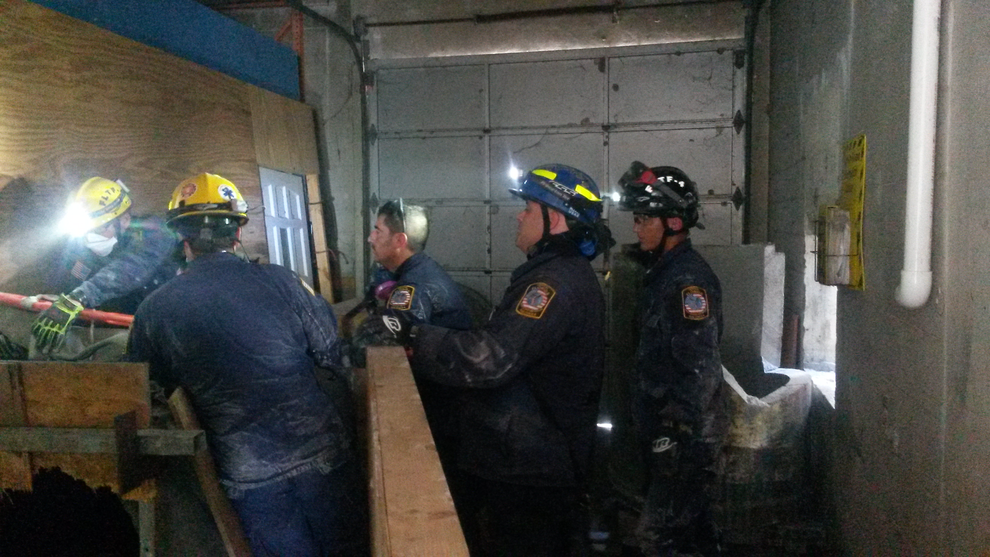 Collapsed Building Technical Rescue