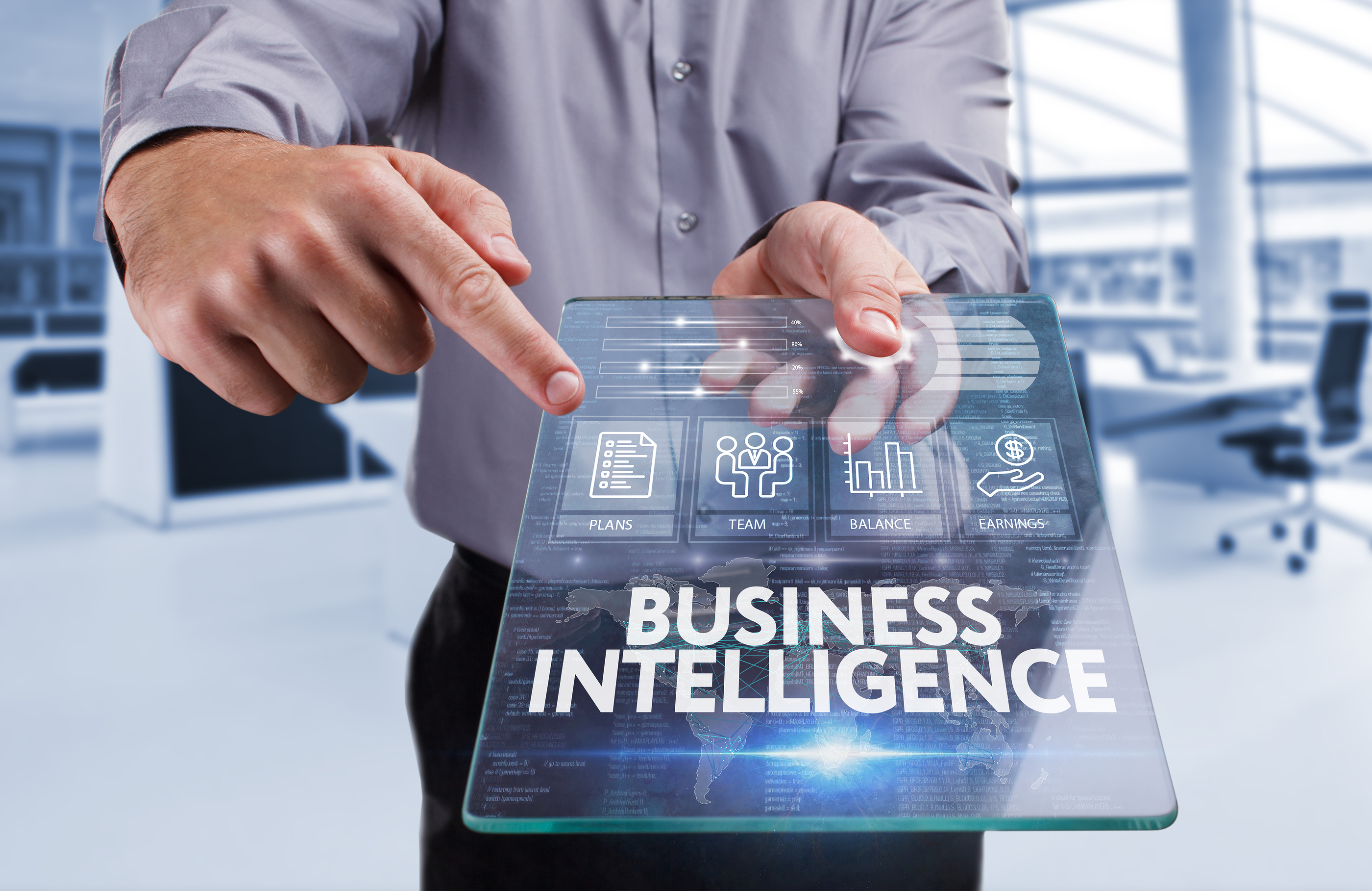 Business, Technology, Internet And Netwo