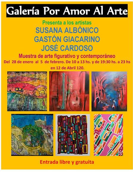 Exposición Susana Albónico Enero 2017