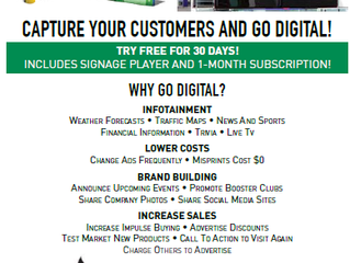 Capture Your Customers and Go Digital!