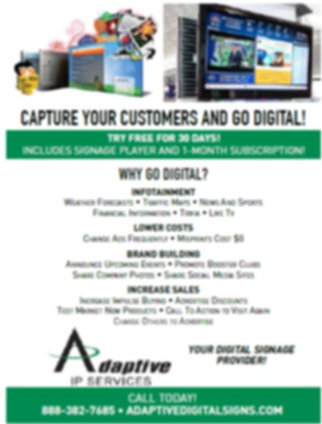 Digital Signage Information