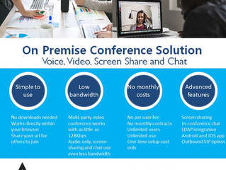 One-Time Cost - Video Conference Solution