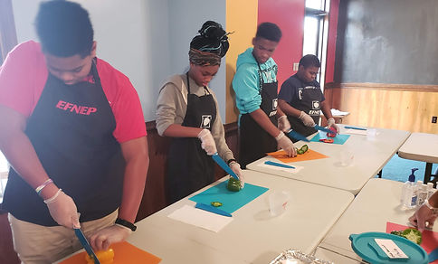 T.H.I.N.K Program cooking class