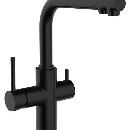 IMPRESE DAICY смеситель для кухни с подключением питьевой воды, чер
