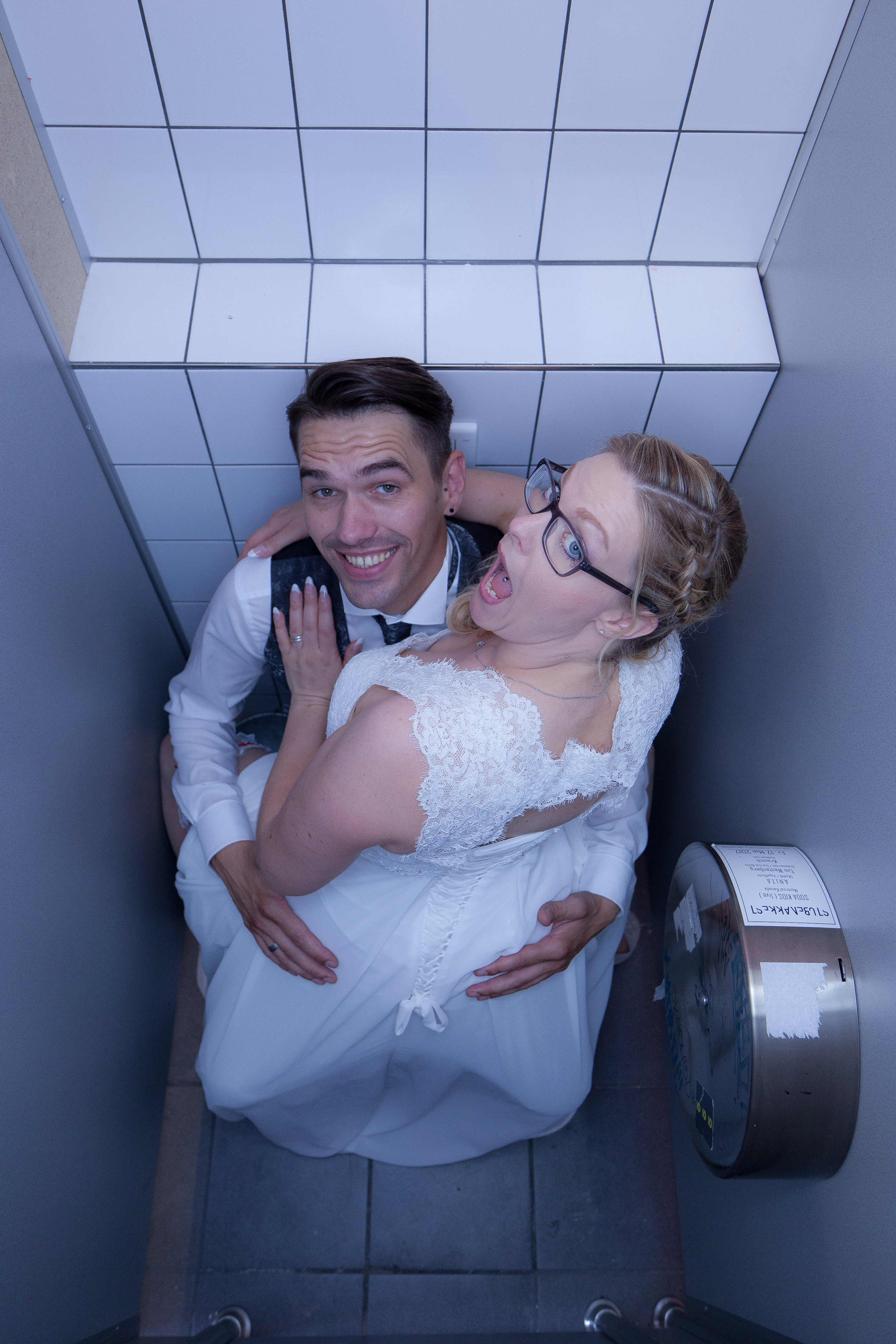 Überwachungskamera Toilette ;-)