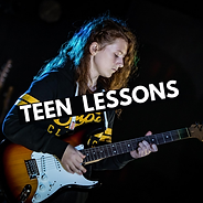 Teen guitar lessons