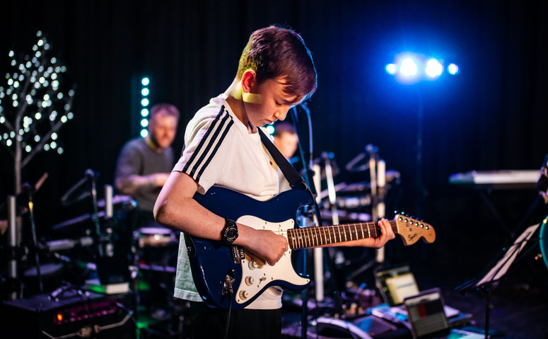Manchester Guitar Student