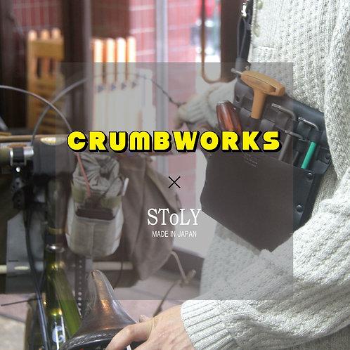 CRUMB WORKS 別注オリジナルTool bag