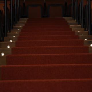 תאורת הביטחון של המדרגות.
