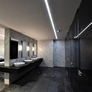 עיצוב תאורה ייחודית לנוחיות במרחב הציבורי של בית המלון