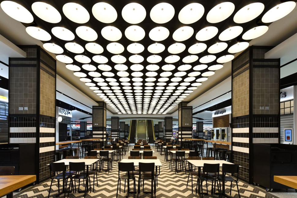 Renanim - Food Court Light Design