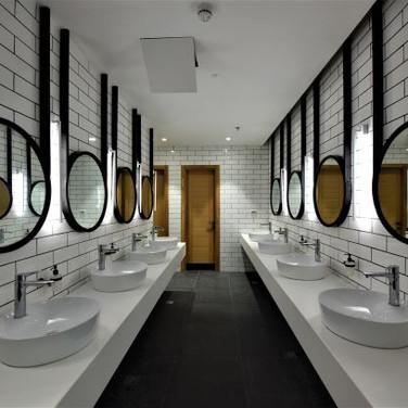 Kfar Giladi Hotel | Auditorium and restrooms  | Kibbutz Kfar Giladi