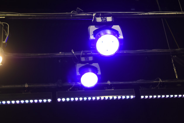 Stage lighting - Sela Auditoriums, Rehovot
