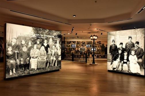 Lighting of the Diaspora area. ANU Museum