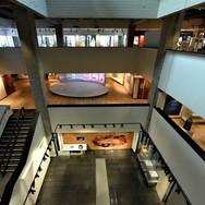 The atrium   ANU -The Jewish People's Museum   Tel Aviv