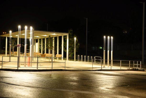 The city - MODI'IN night lighting