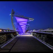 The Tubes Bridge |  over the Beer Sheva River
