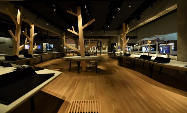 Central Area Lighting, ANU Museum
