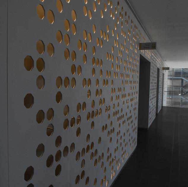קיר מואר וייחודי