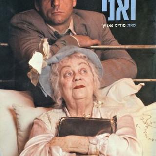 הדודה ואני | מאת מוריס פאניץ | בימוי: רוני פינקוביץ' | 2004 | עיצוב שער התוכנייה: שמעון זנדהאוז | צילום התמונה: גדי דגון