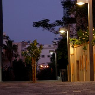 עיצוב תאורת הרחוב