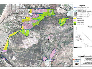 FORA ESCA Properties and Proposed Future Land Uses