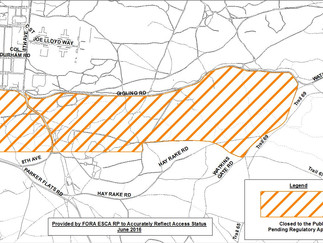 STAY INFORMED: Trail Access Status for Parker Flats on Former Fort Ord