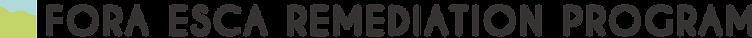 FORA ESCA RP Logo