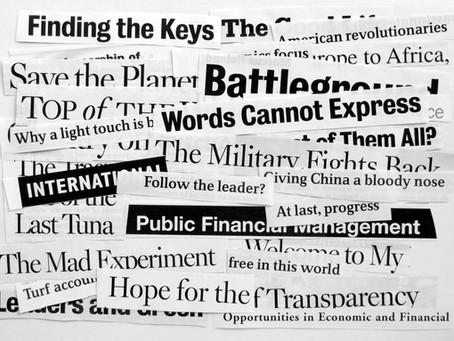 How Do Journalists Write Their Headlines?