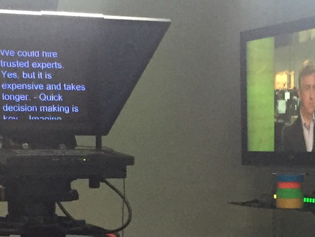 10 Tips on Using a Teleprompter for your Business Video