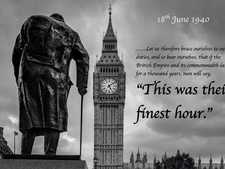 Churchill's Finest Speech?