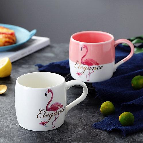 Кружка Elegance с фламинго 🌷