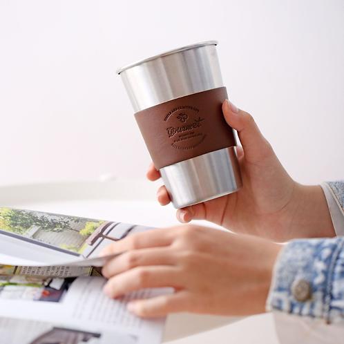 Кофейный стакан металлический 350мл