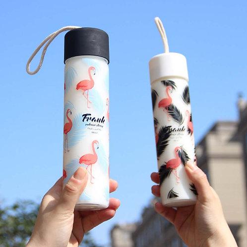 "Бутылочка для воды ""Фламинго"" 0,5л"