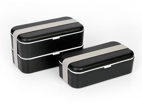 Lunch box черно-белый
