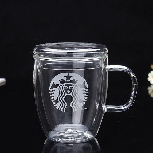 Стеклянный стакан Starbucks