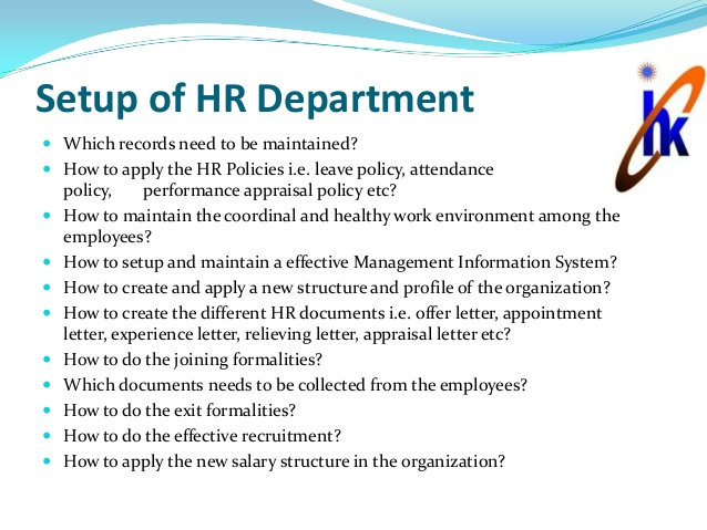 HR Setup Services