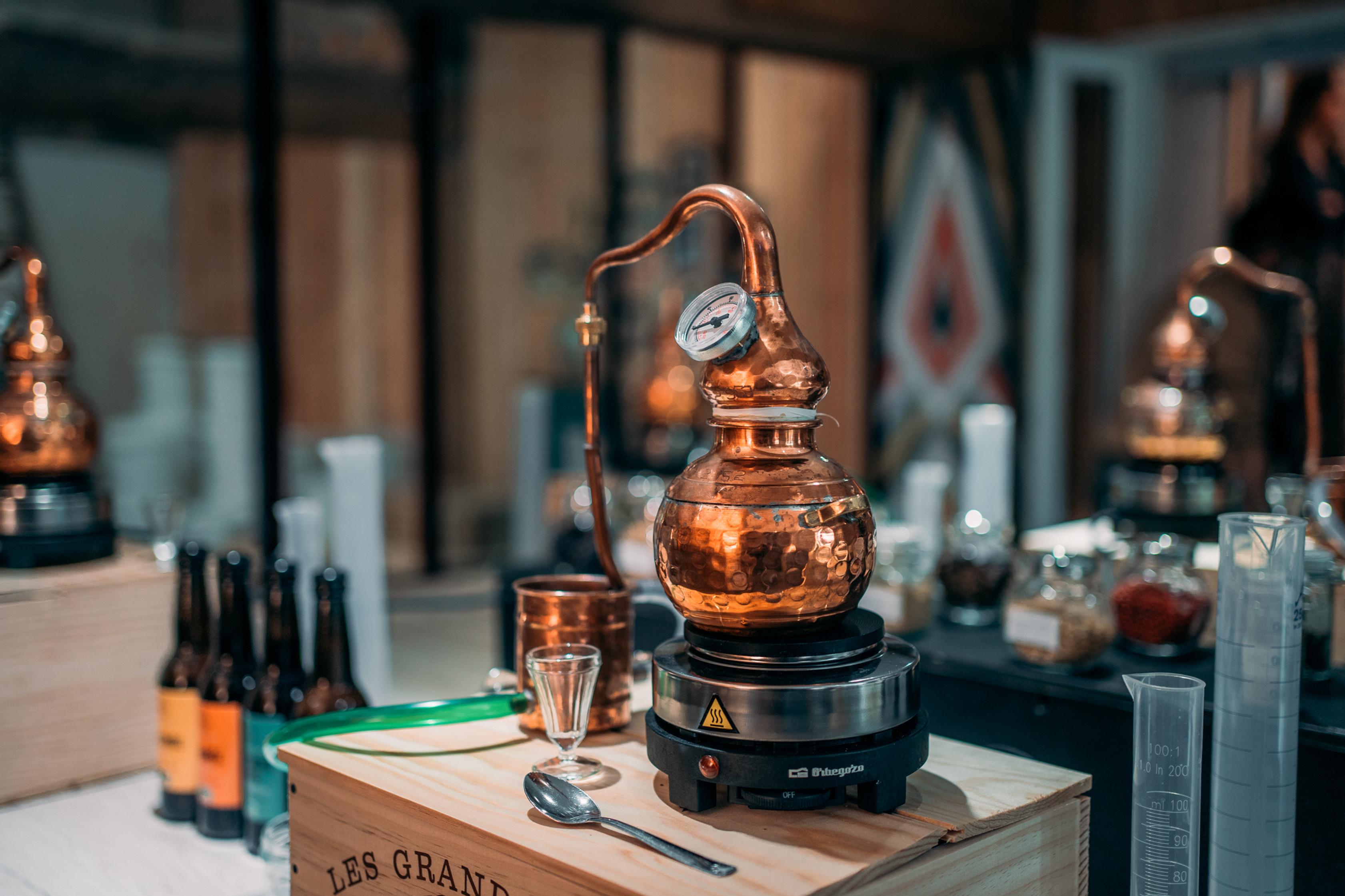 Atelier de Distillation Amateur