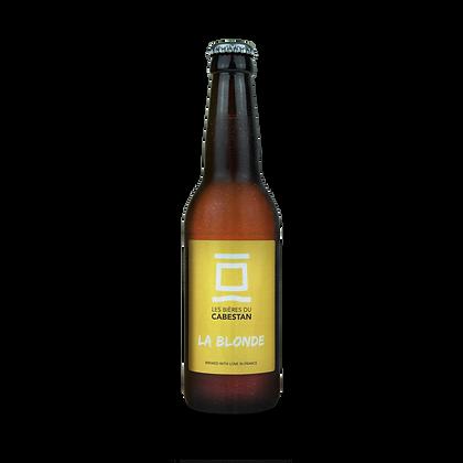 Carton de 6 bouteilles de 75cl de bière Blonde